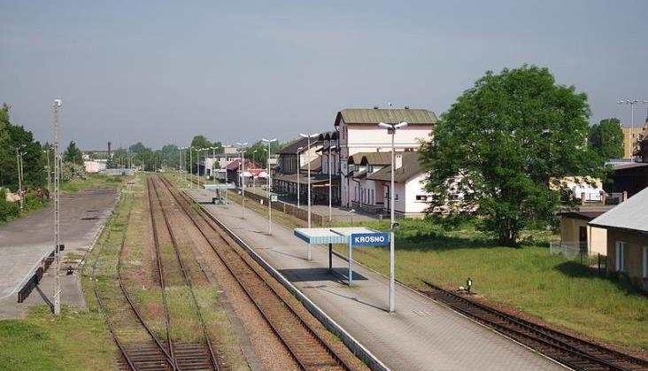 Tory w Krośnie będą w wykopie. Podczas prac pociągi zastąpią autobusy