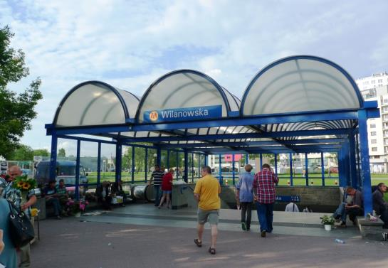 Metro: Wilanowska bez najważniejszego wyjścia. Przez prywatny biurowiec. Potem będzie tylko gorzej?