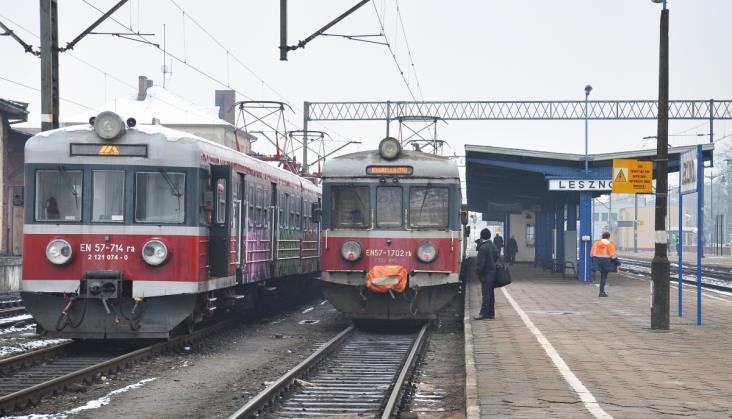 Bez zmian w zakresie modernizacji stacji Leszno na magistrali E59