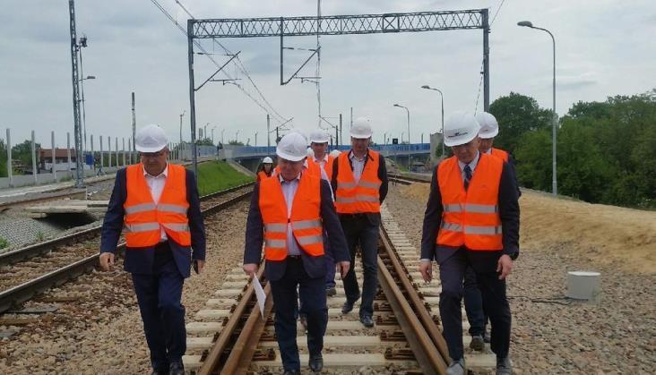 MIB chwali tempo prac na kolejowym szlaku Kraków – Katowice
