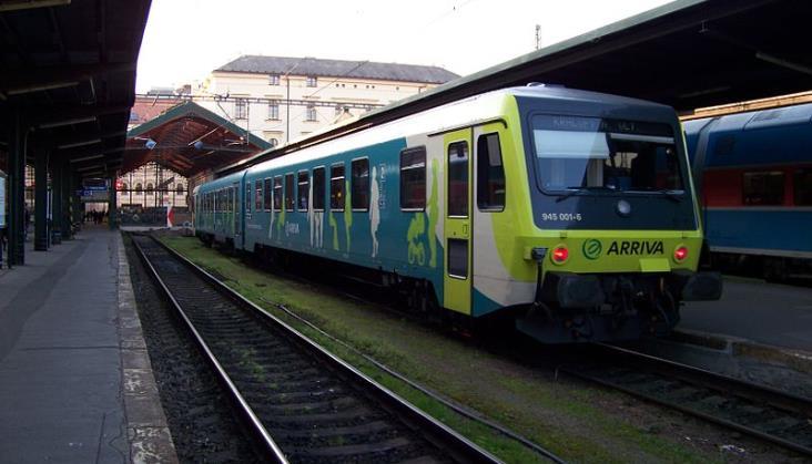 Arriva chce więcej pociągów między Czechami a Słowacją