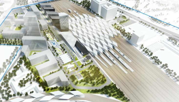 Rozpoczyna się projektowanie nowej Warszawy Zachodniej