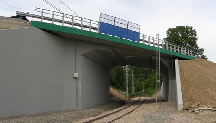 Łącznica w Kalwarii Zebrzydowskiej do 2022 roku