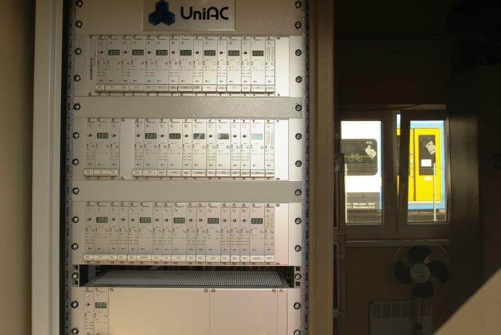 System liczenia osi UniAC1 na sieci PKP PLK
