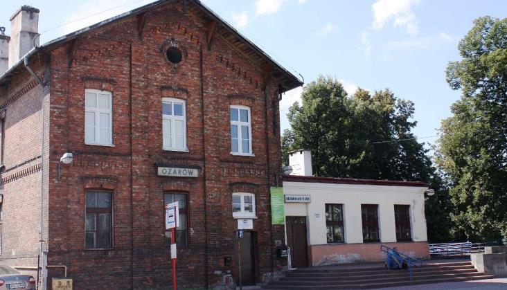 PKP SA szykują remont dworca w Ożarowie Mazowieckim
