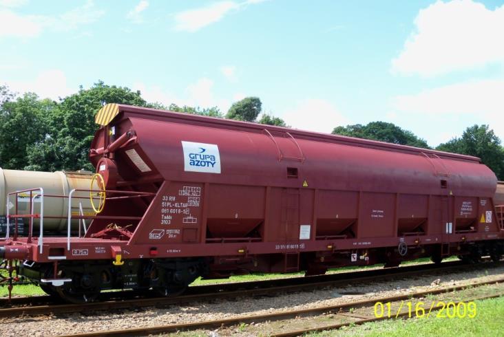 Ogłoszenie na wynajem wagonów towarowych Koltar