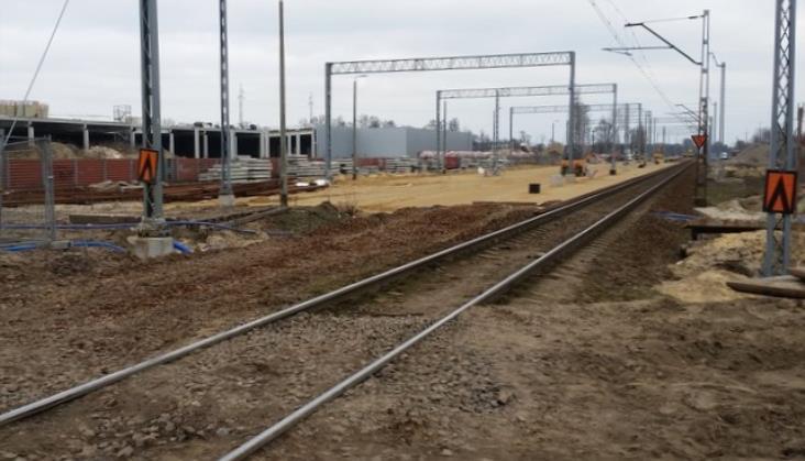 Trwają prace na wołomińskim odcinku Rail Baltiki