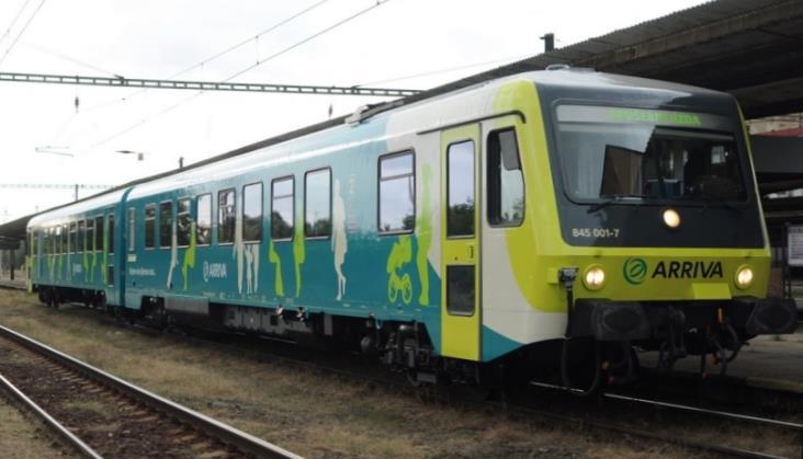Arriva uruchamia w Czechach komercyjne połączenia kolejowe