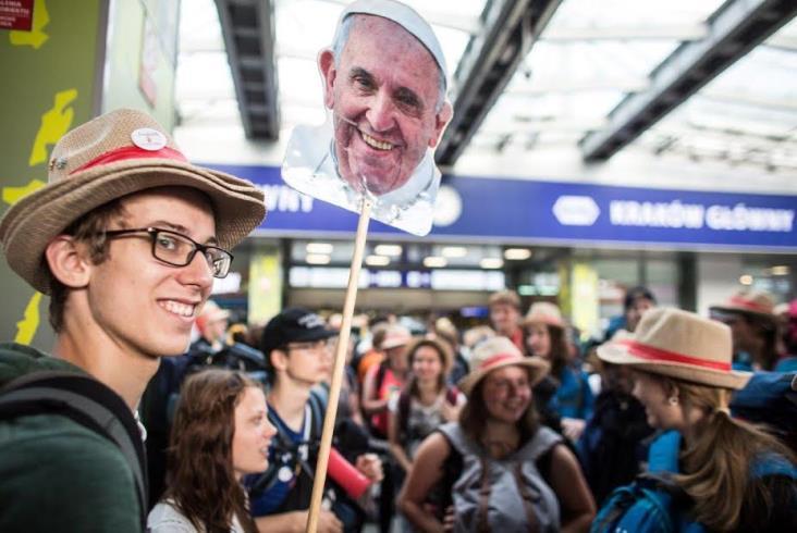 ŚDM 2016: 115 tysięcy pielgrzymów dotarło do Krakowa pociągami (zdjęcia)
