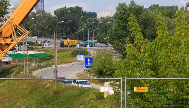 Budowa trasy w Warszawie utrudni ruch pociagów. Pendolino na objeździe