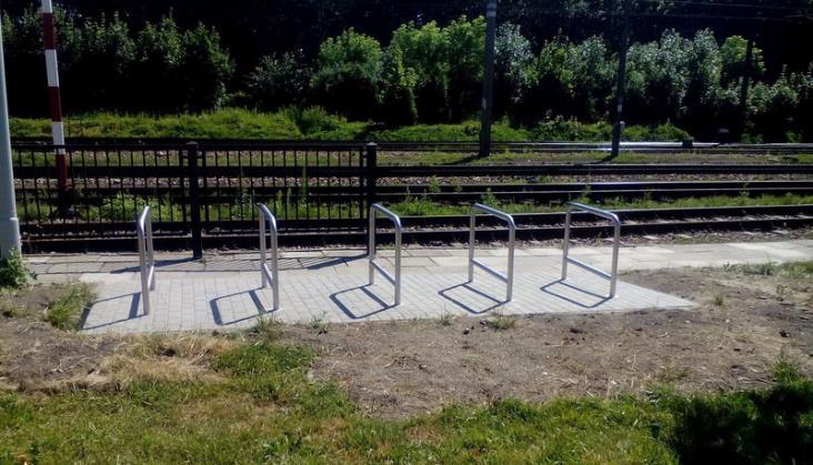 PLK kończą sezon rowerowy z 1400 nowymi stojakami