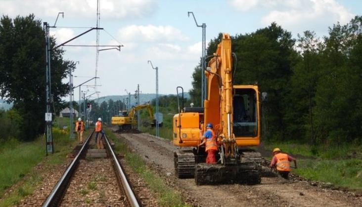 Linia Kraków - Katowice: Wszystkie odcinki z co najmniej półrocznym opóźnieniem