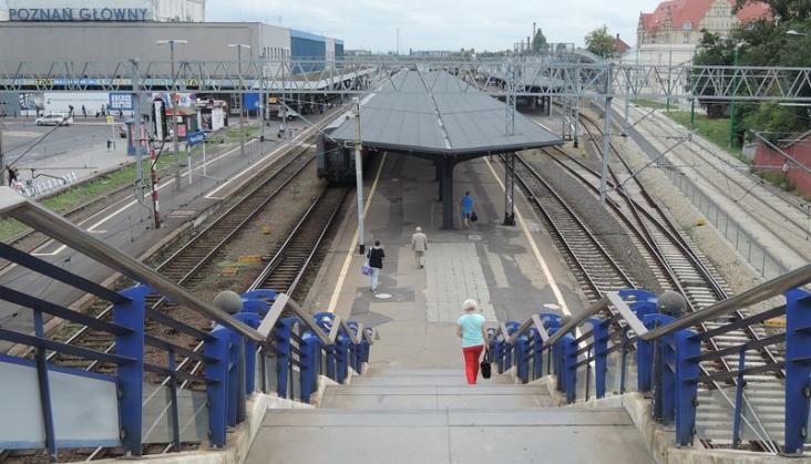 Perony w Poznaniu będą zmodernizowane