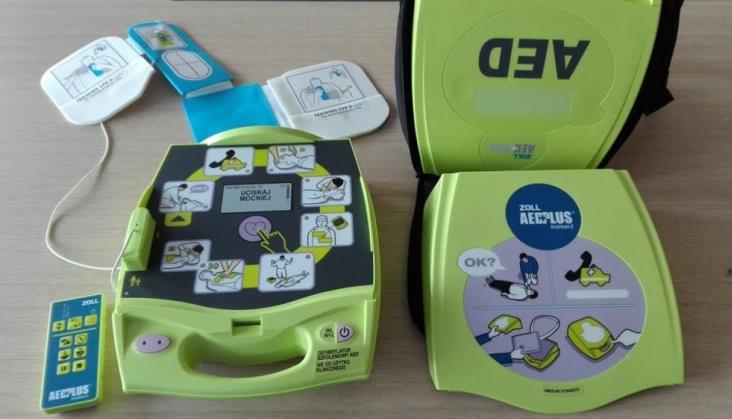 Kolejowy defibrylator znów uratował życie