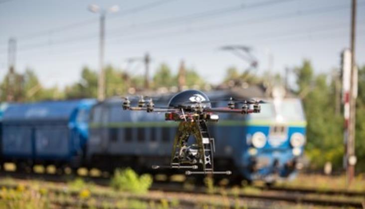PKP Cargo dzięki dronom odnotowuje coraz mniej kradzieży