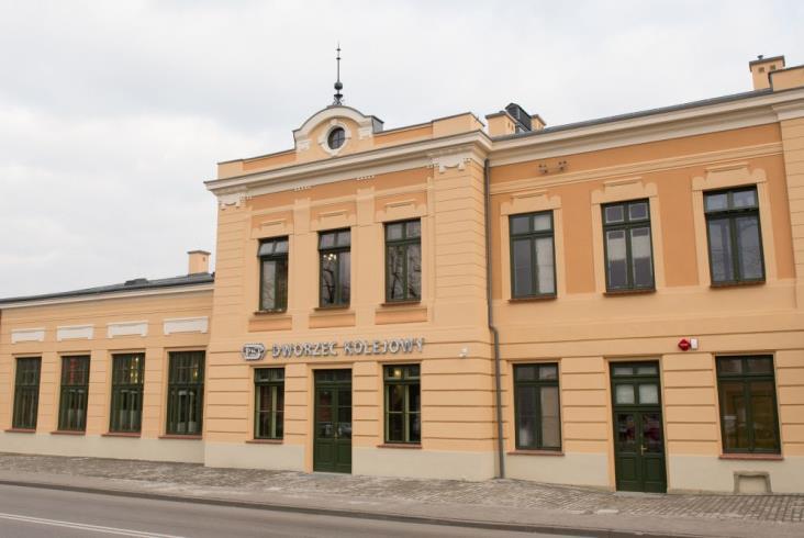 PKP Wieliczka Park: W historycznych murach dworca nie zabraknie nawet muzyki