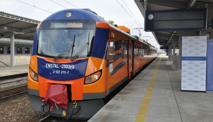 Zmodernizowane EN57 nadal będą jeździć do Piły i Kołobrzegu