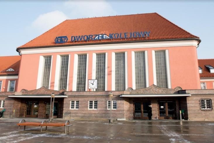 Dworzec i stacja w Gliwicach ukończone