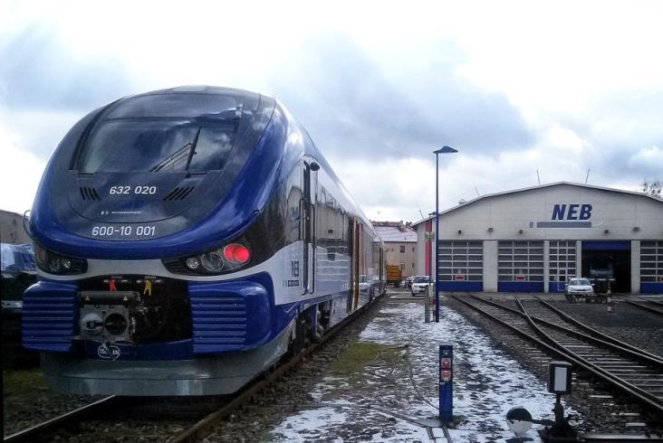 Nowy Link Pesy dla NEB już w Niemczech