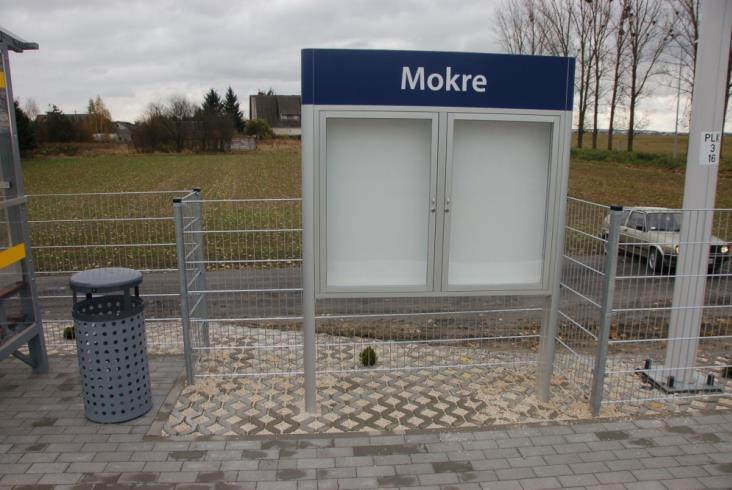 Powstał nowy przystanek kolejowy w Mokrem pod Zamościem (zdjęcia)