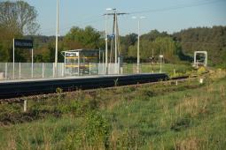 Przystanek kolejowy Wólka Orłowska zacznie działać z końcem maja