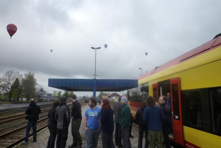 Pociągi wróciły do Łupkowa [zdjęcia]