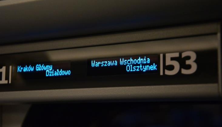 Błędy w systemie sprzedaży biletów IC. Podwójne pociągi do Olsztyna