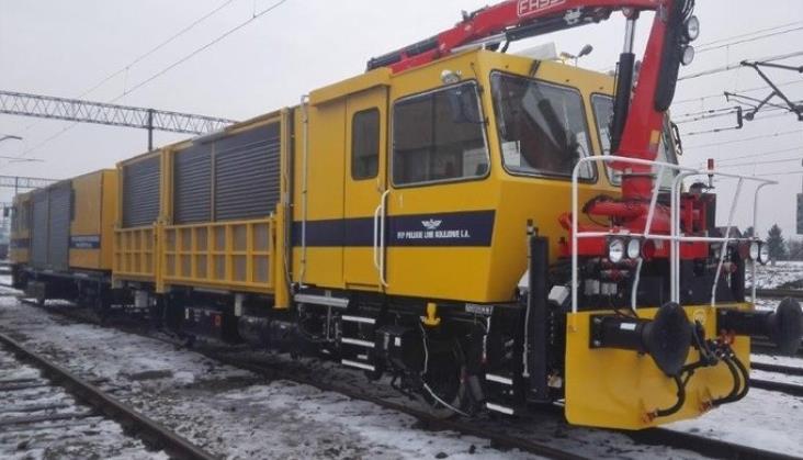 Nowy pojazd ratownictwa technicznego w PKP PLK