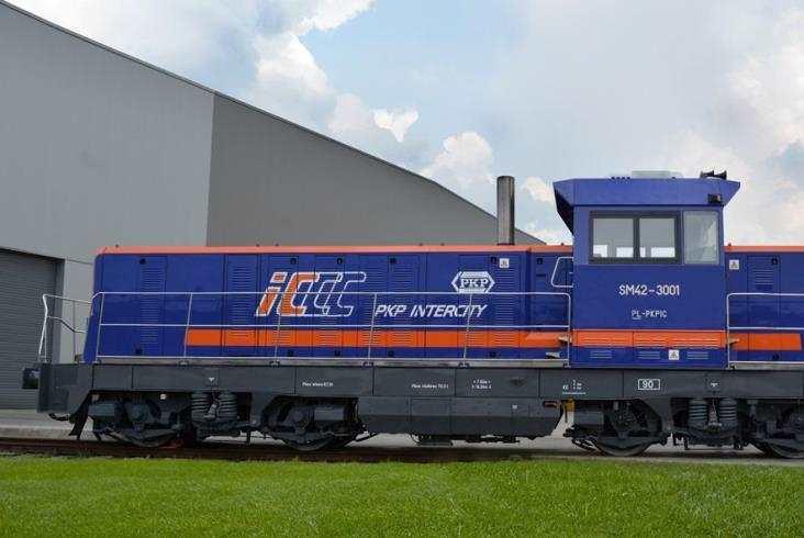 Newag zmodernizował pierwszą lokomotywę dla PKP IC