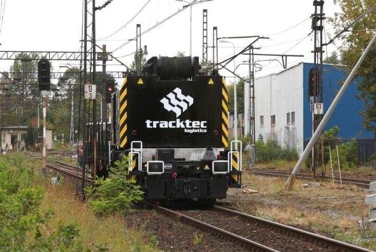 Track Tec zamontował rozjazd wblokach (zdjęcia)