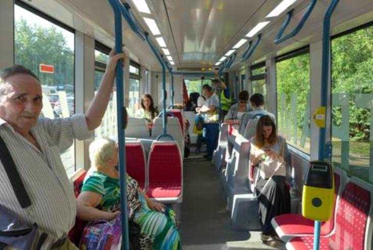 Dziecko Alstomu iTransmaszholdingu natorach Moskwy