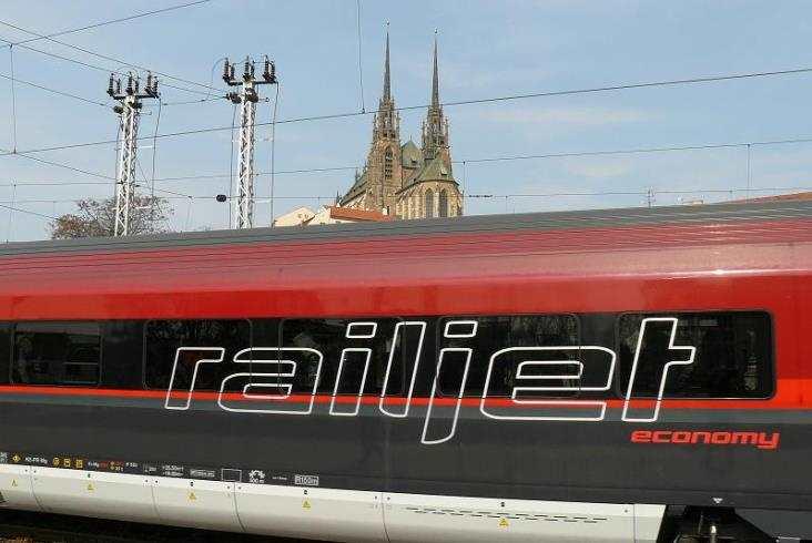 Railjet w Czechach