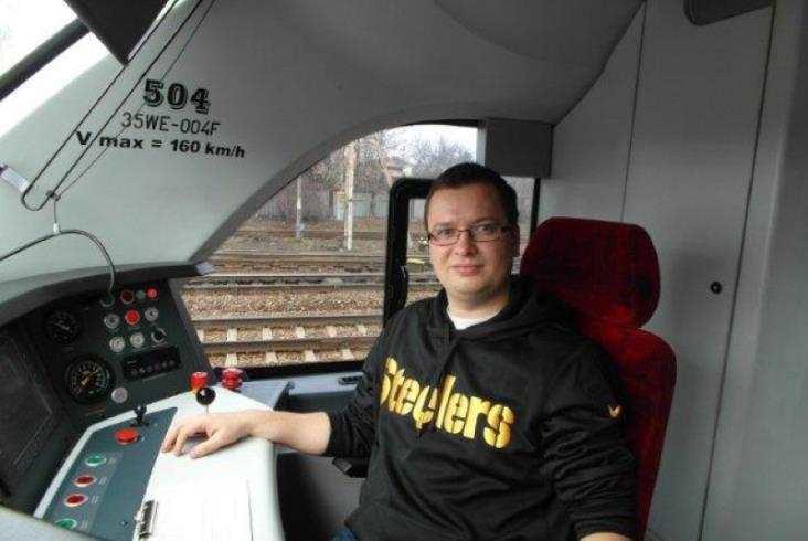 Spełnione marzenie - przejazd w kabinie maszynisty SKM Warszawa