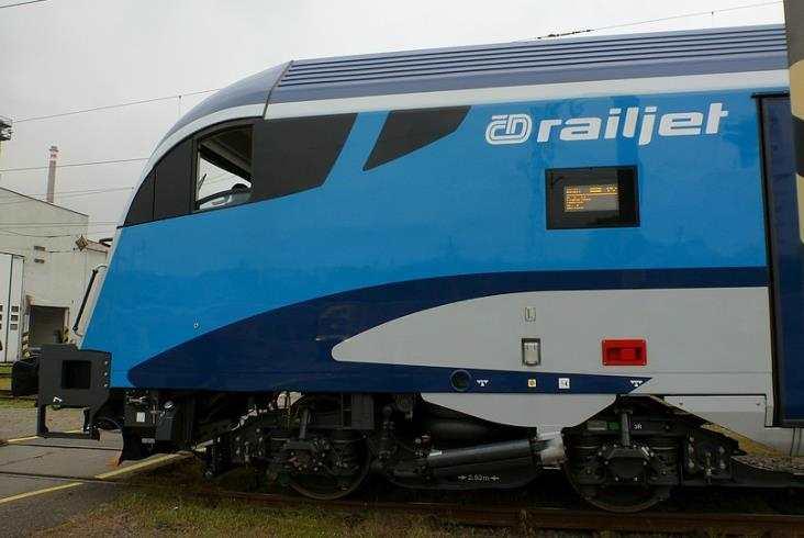 Railjet już w czeskich barwach [dużo zdjęć]