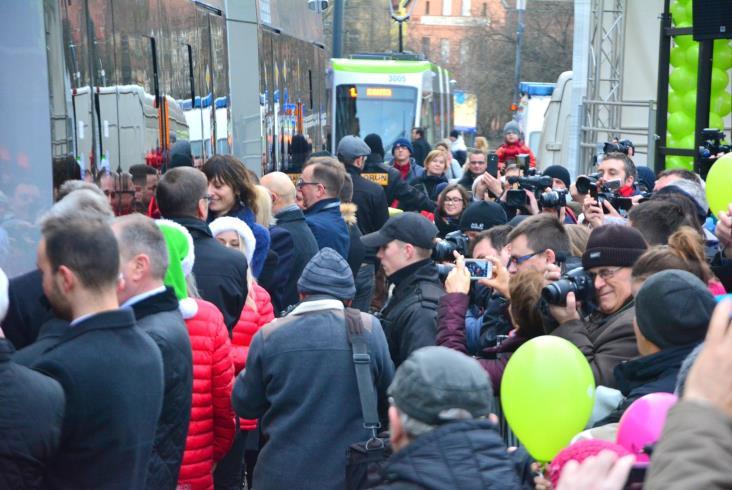 Pierwszy dzień olsztyńskich tramwajów [fotorelacja]