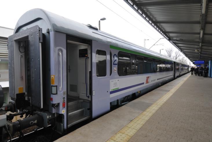 PKP Intercity prezentuje nowe wagony natrasę Warszawa – Szczecin (zdjęcia)
