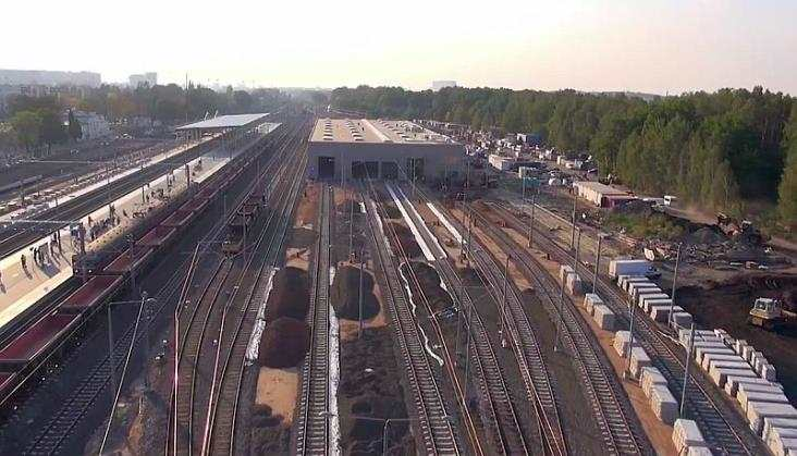 Stacja Łódź Widzew zmienia się w oczach - film z placu budowy