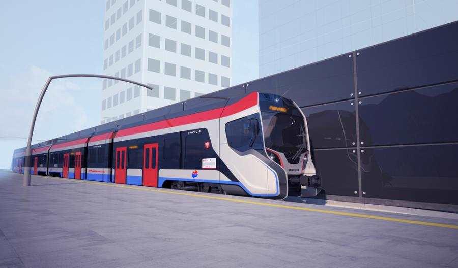 Nowy pociąg Newagu dla WKD [wizualizacje]
