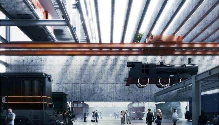 Muzeum Kolejnictwa przeniesie się naOdolany w2018 r.