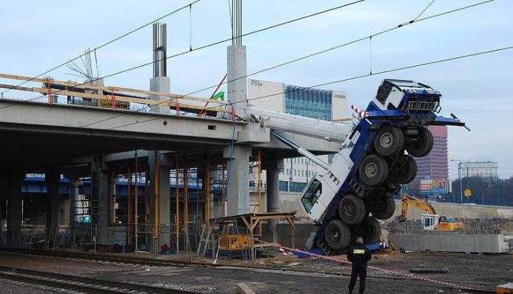 Nowe fakty ws. wypadku na budowie poznańskiego dworca