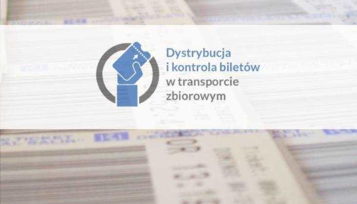 Dystrybucja i kontrola biletów w transporcie zbiorowym - konferencja 12 maja