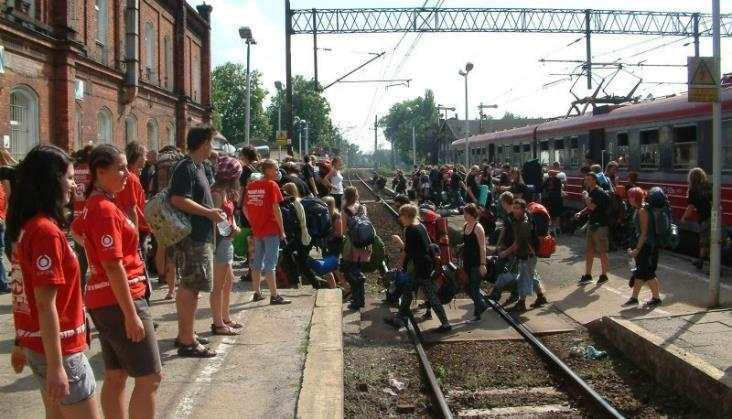 Przystanek Woodstock jak przedwojenne PKP