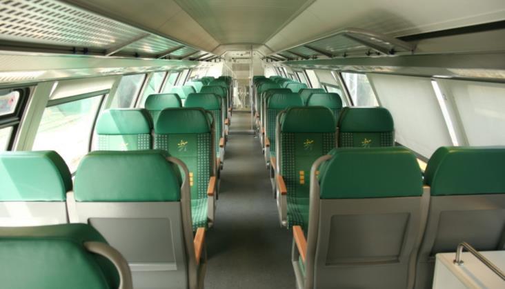 Pociąg Słoneczny przewiózł w sezonie letnim prawie 120 tysięcy pasażerów