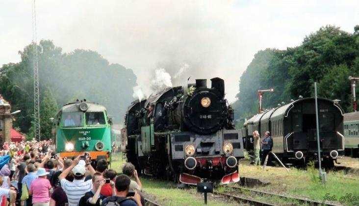 II Parada Lokomotyw ożywi nieczynny węzeł kolejowy w Międzychodzie