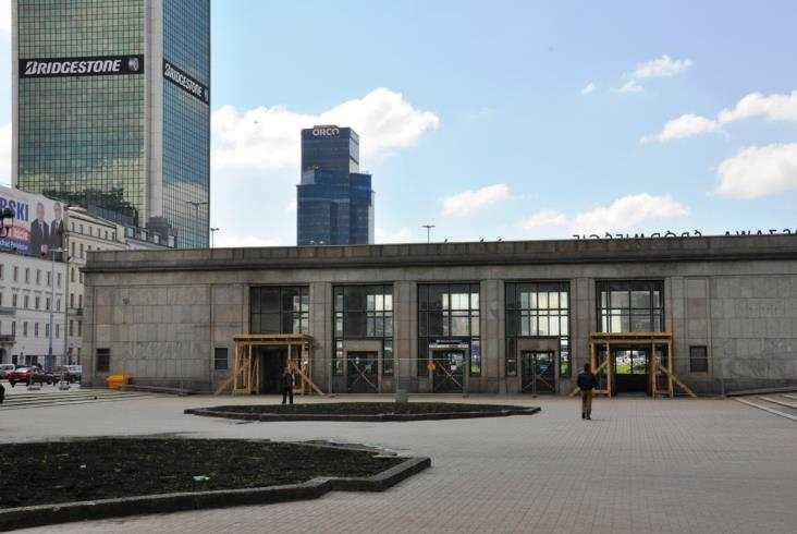 Pawilony Warszawy Śródmieście lśnią poremoncie
