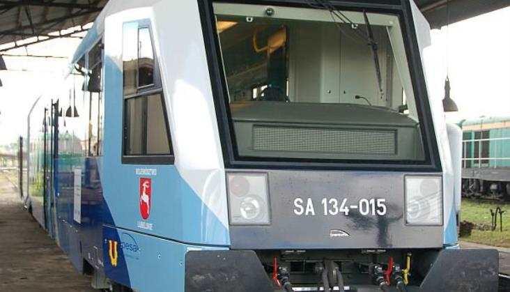 Lubelskie: szynobusy serii SA134 w Chełmie