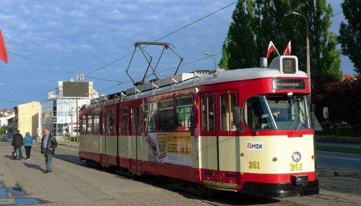 Sieci tramwajowe wPolsce - raport miesięcznika RK