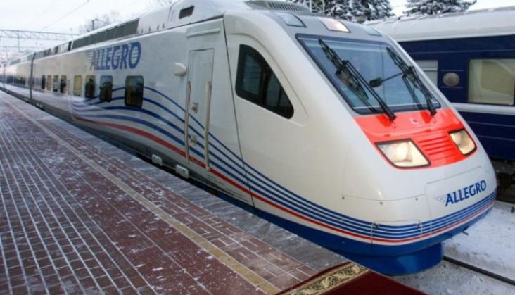 Koleje Rosyjskie zapowiadają skrócenie czasu podróży między Petersburgiem aHelsinkami