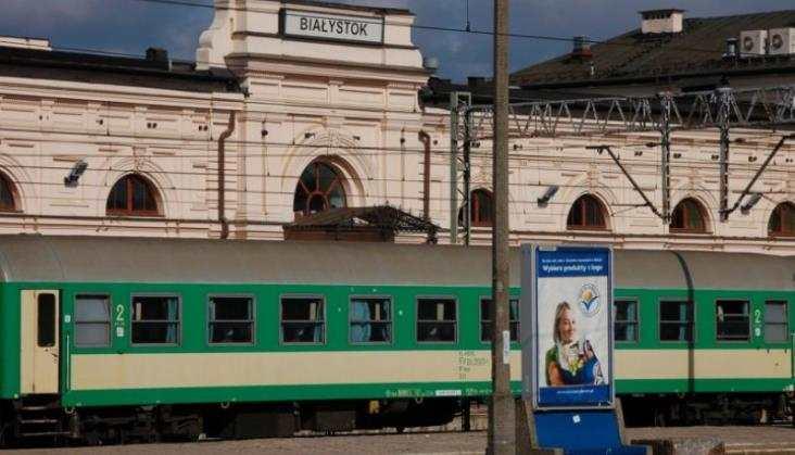 Pociągiem specjalnym wokół Ostrołęki