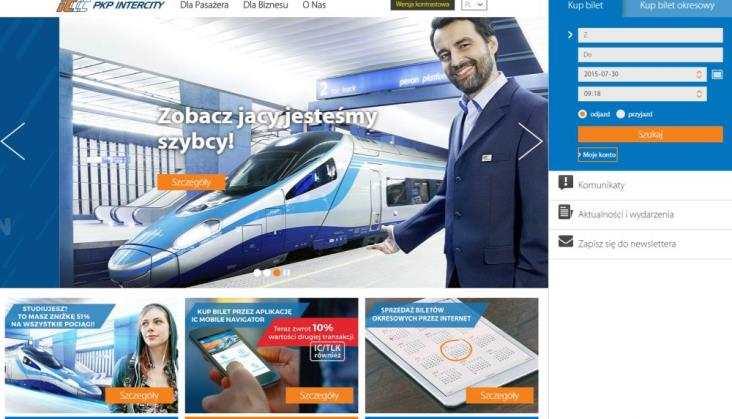 PKP Informatyka: System sprzedaży biletów przeniesiony